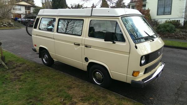 1981 Vw Vanagon Westfalia Camper For Sale In Seattle Wa