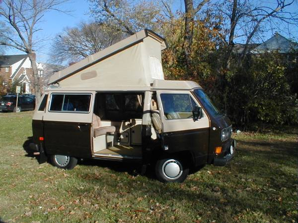 1984 Vw Vanagon Westfalia Camper For Sale In St Louis Mo