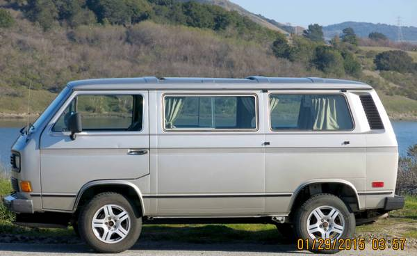 1987 VW Vanagon Syncro Camper For Sale in San Mateo, CA