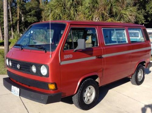 1987 VW Vanagon GL Camper For Sale in Sarasota, FL