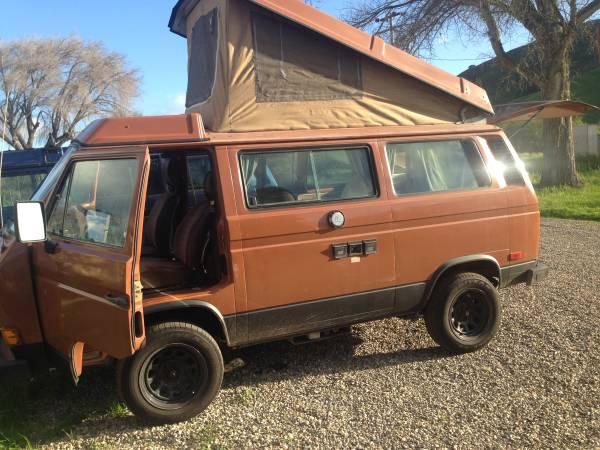 1982 VW Vanagon Westfalia Camper For Sale in Santa Barbara, CA