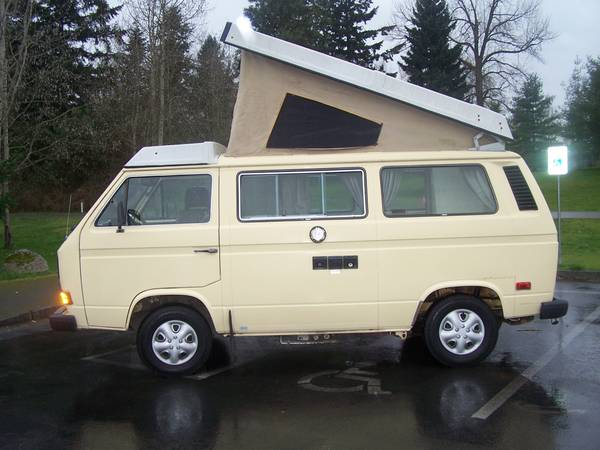 1982 vw vanagon westfalia camper for sale in seattle wa. Black Bedroom Furniture Sets. Home Design Ideas