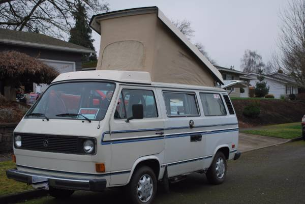 1983 vw vanagon westfalia camper for sale in keizer or. Black Bedroom Furniture Sets. Home Design Ideas