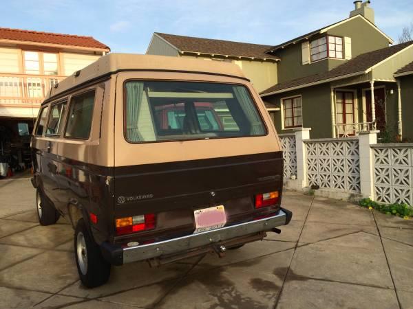 1984 VW Vanagon Westfalia Camper For Sale in Lake Merritt, CA