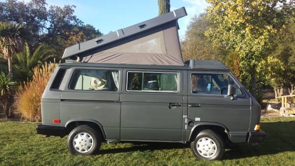 1988 VW Vanagon Camper For Sale - Transporter Type 2 (T3 ...