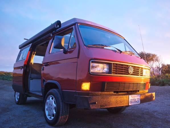 1988 vw vanagon westfalia camper for sale in sausalito ca. Black Bedroom Furniture Sets. Home Design Ideas