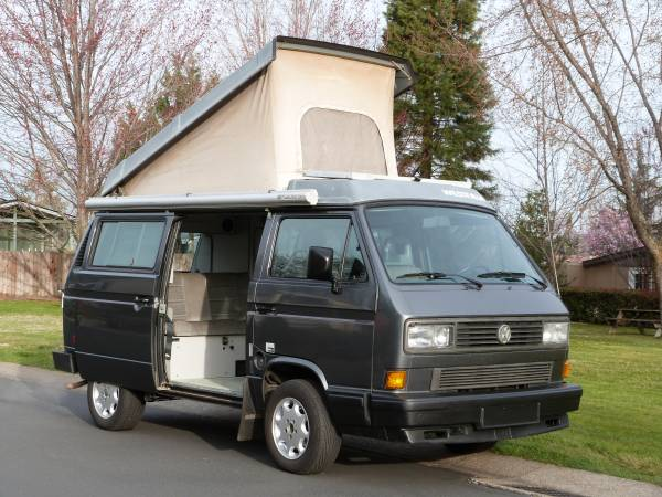 1989 vw vanagon westfalia camper for sale in ashland or. Black Bedroom Furniture Sets. Home Design Ideas