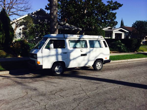 1991 VW Vanagon Westfalia Camper For Sale In Los Angeles, CA