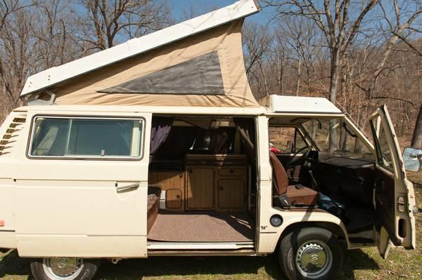 1981 Vw Vanagon Westfalia Camper For Sale In Kansas City Mo