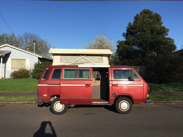1981 VW Vanagon Westfalia Camper For Sale in Damascus, OR