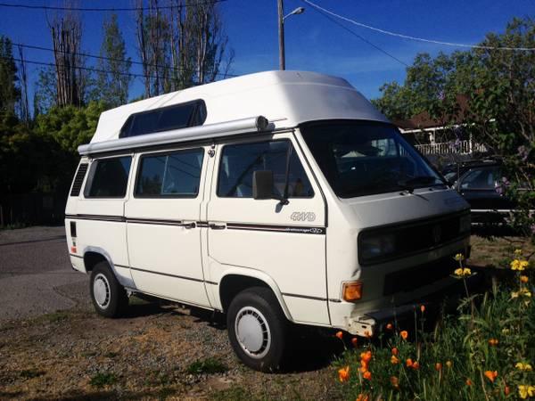 1990 VW Vanagon SyncroCamper For Sale in San Rafael, CA