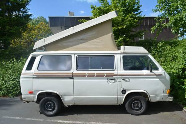 1982 vw vanagon westfalia camper for sale in portland or. Black Bedroom Furniture Sets. Home Design Ideas