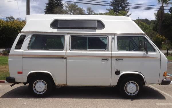 vw vanagon adventurewagen camper  sale  soquel ca