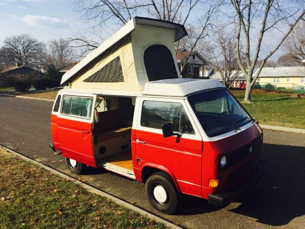 1984 vw vanagon westfalia camper for sale in south jersey nj. Black Bedroom Furniture Sets. Home Design Ideas