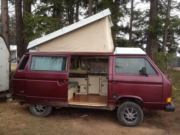 1984 VW Vanagon Westfalia Camper For Sale in Columbia ...