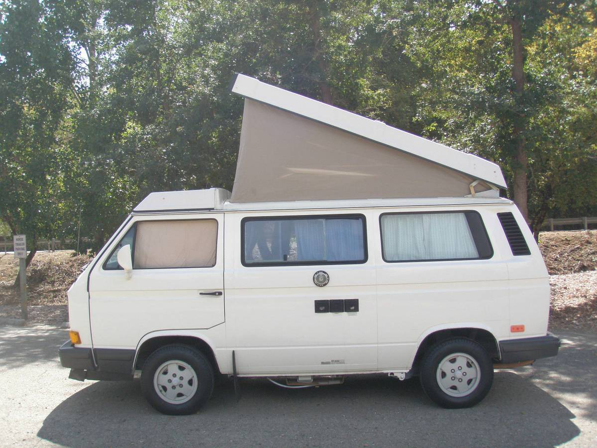 1990 vw vanagon westfalia camper for sale in ottawa canada. Black Bedroom Furniture Sets. Home Design Ideas