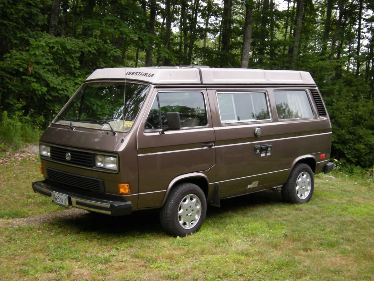 1986 vw vanagon westfalia gl camper for sale in maine. Black Bedroom Furniture Sets. Home Design Ideas