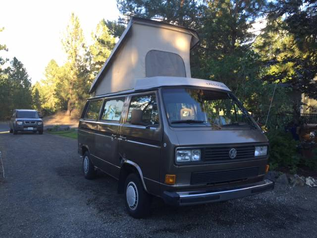 1986 VW Vanagon Westfalia Camper For Sale In South Hill, WA