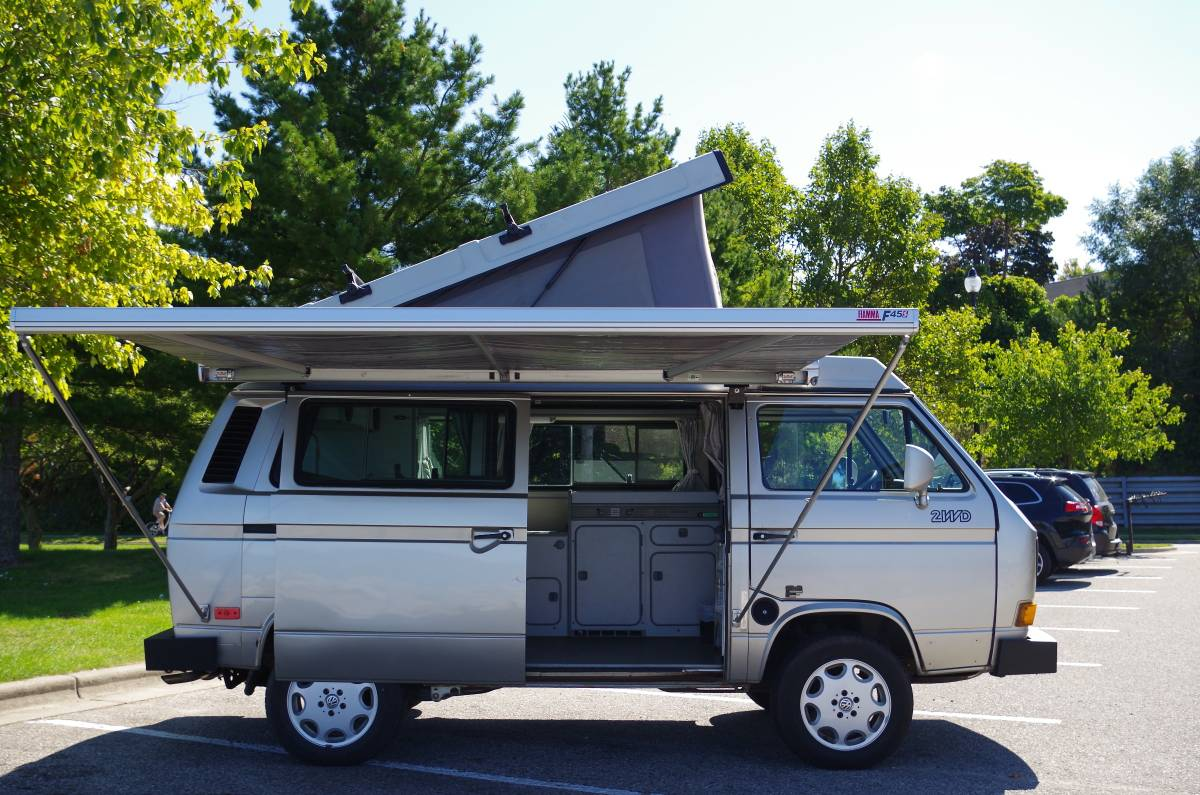 1991 Vw Vanagon Westfalia Gl Camper For Sale In Harbor