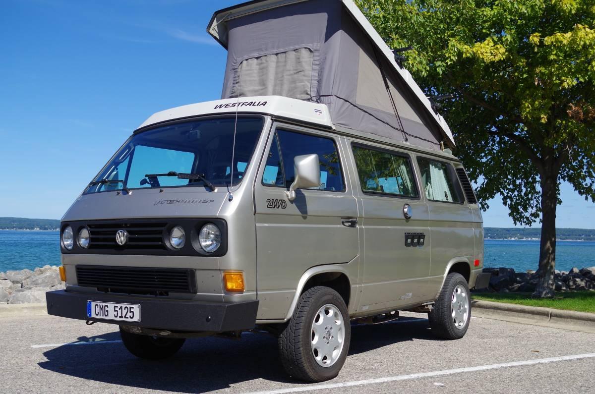 1991 Vw Vanagon Camper For Sale Transporter Type 2 T3