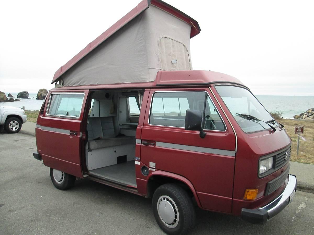 Slo Craigslist: 1987 VW Vanagon Westfalia Camper For Sale In San Francisco, CA
