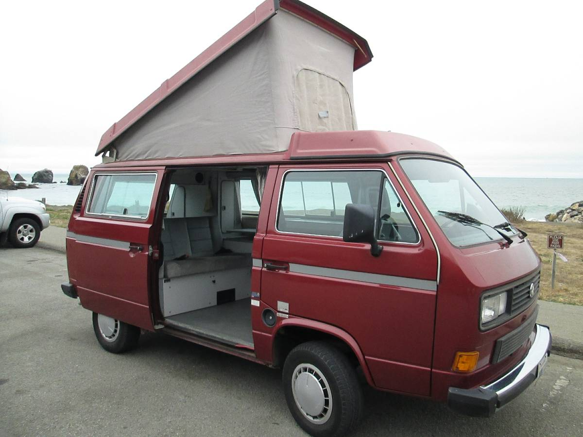 1987 vw vanagon westfalia camper for sale in pacific heights ca. Black Bedroom Furniture Sets. Home Design Ideas