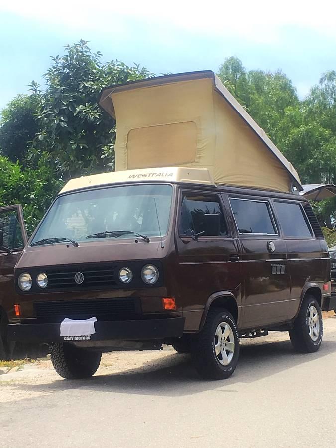 1985 VW Vanagon Westfalia Camper For Sale In Santa Barbara, CA