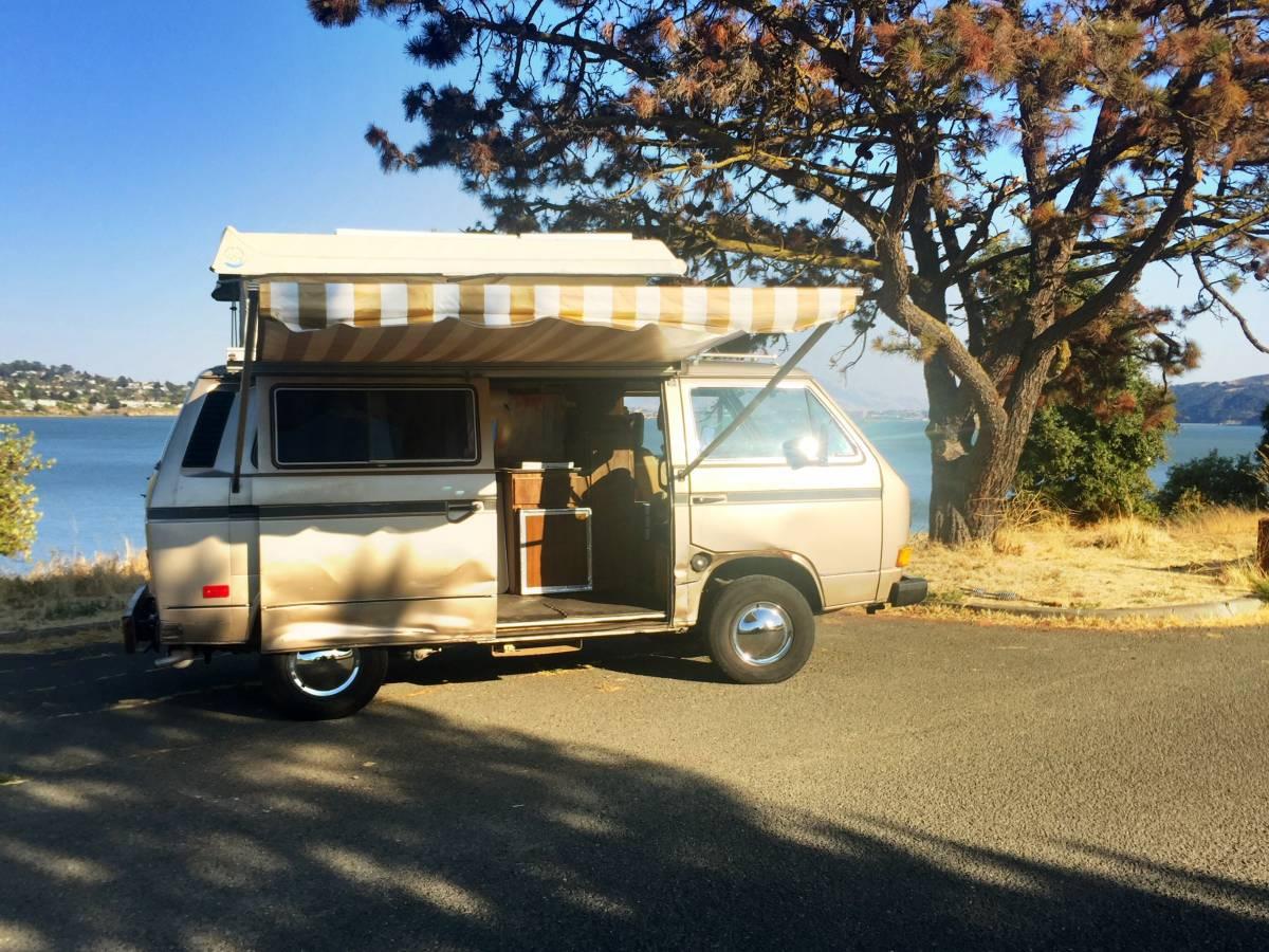1985 VW Vanagon 2.2L V4 Manual Camper For Sale in Vallejo, CA