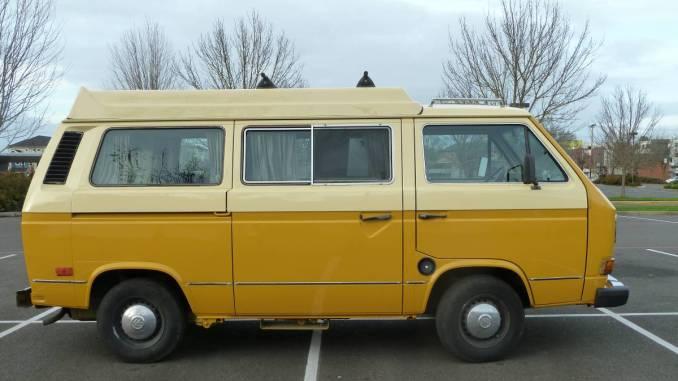 1982 VW Vanagon GL/L Diesel Camper For Sale in Eugene, OR