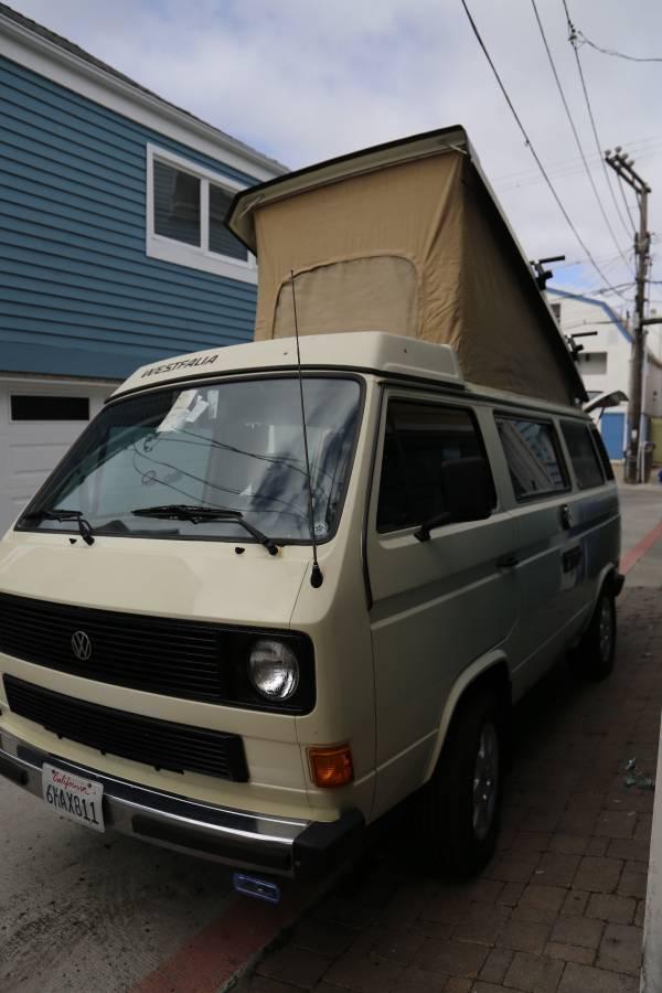 1985 Vw Vanagon Westfalia Full Camper For Sale In San