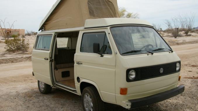1982 Vanagon Westfalia GL 2 0 4spd Camper For Sale in El