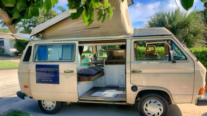 1981 Vanagon Westfalia Rare Automatic For Sale in Fort ...