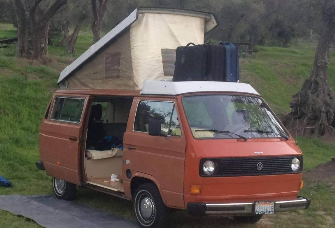 1982 vw westfalia vanagon for sale in van nuys los. Black Bedroom Furniture Sets. Home Design Ideas