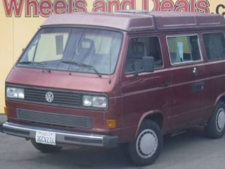 VW Vanagon Camper For Sale in California