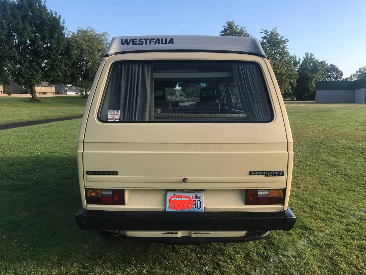 1982 VW Vanagon Westfalia Camper For Sale in Eugene, OR