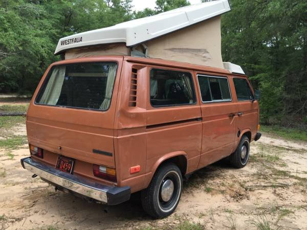 1980 VW Vanagon Westfalia Camper For Sale in Enterprise, AL