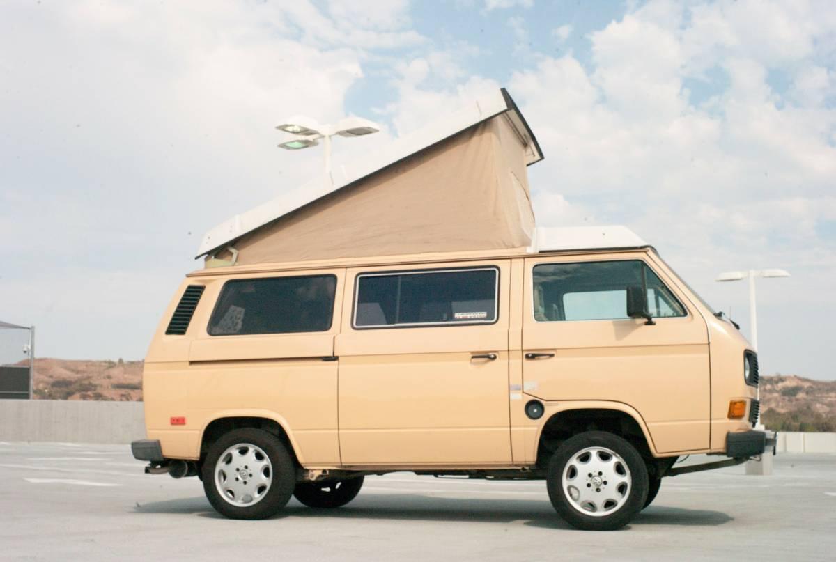 1985 VW Vanagon GL Westfalia Full Camper For Sale in ...