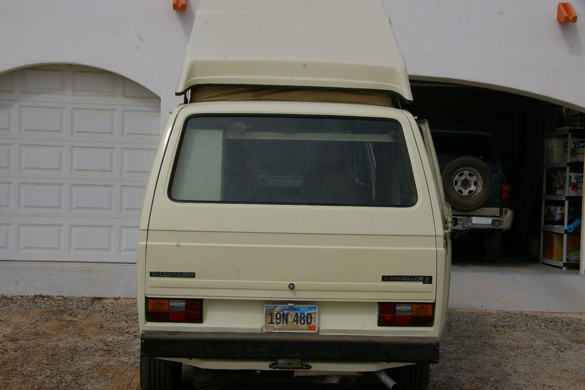 1982 Vanagon Westfalia GL 2.0 4spd Camper For Sale in El ...