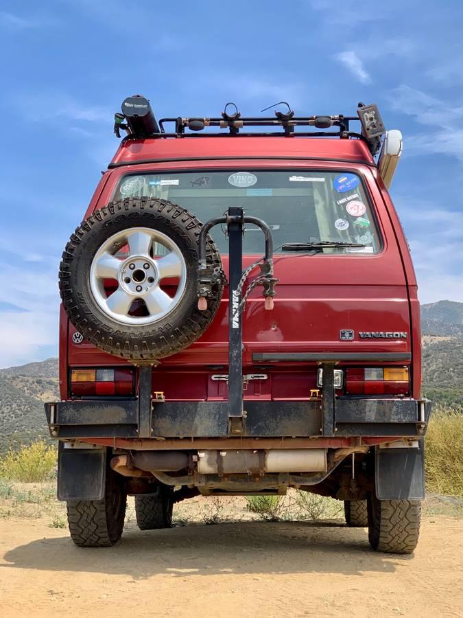 1987 VW Vanagon Westfalia Syncro Camper For Sale in ...