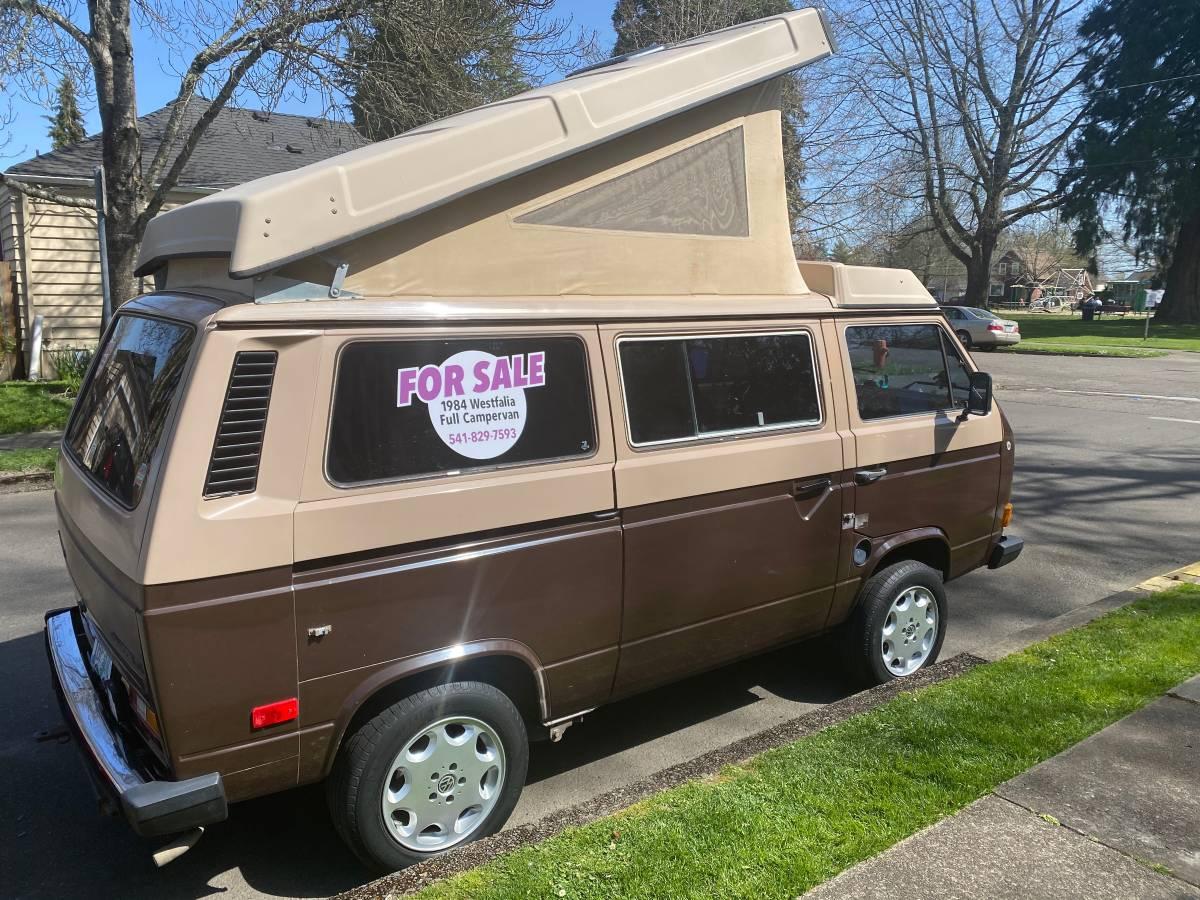 1984 VW Vanagon Westfalia Camper For Sale in Corvallis, Oregon